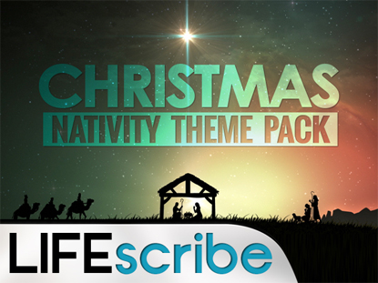 CHRISTMAS NATIVITY THEME PACK