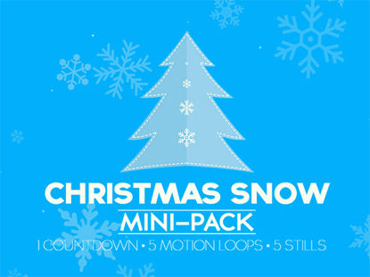 CHRISTMAS SNOW MINI-PACK