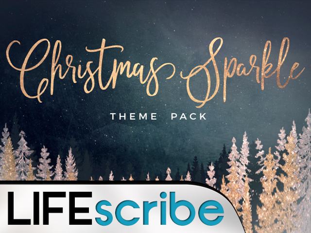 CHRISTMAS SPARKLE THEME PACK