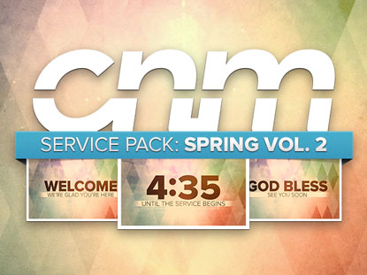 SERVICE PACK: SPRING VOL. 2