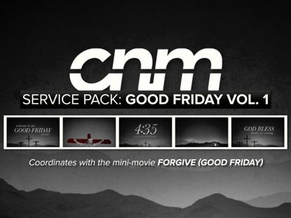 SERVICE PACK: GOOD FRIDAY VOLUME 1