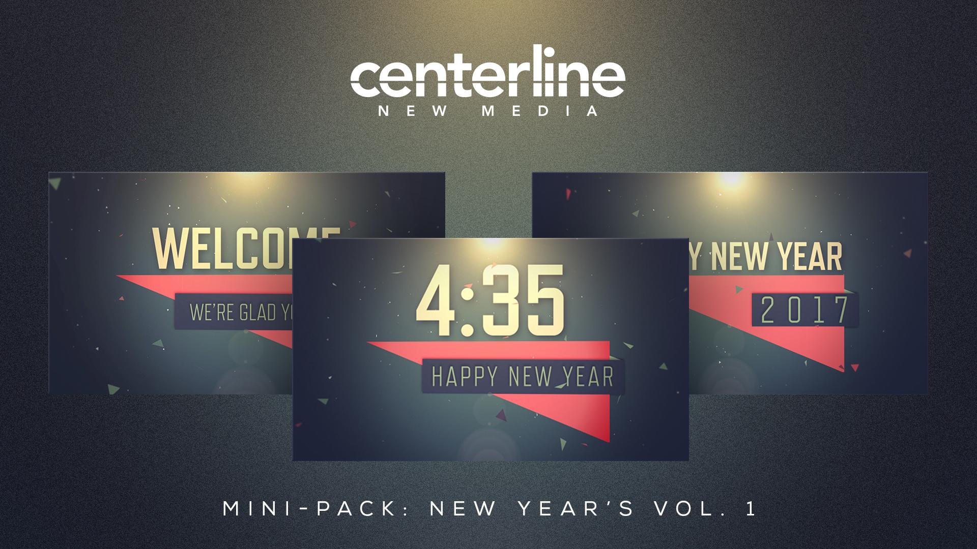 MINI-PACK: NEW YEAR'S VOL. 1