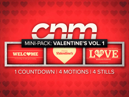 MINI-PACK: VALENTINE'S DAY VOLUME 1