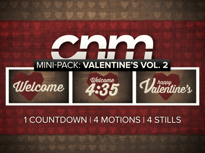 MINI PACK: VALENTINES DAY VOLUME 2