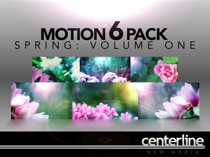 MOTION 6-PACK: SPRING VOLUME 1