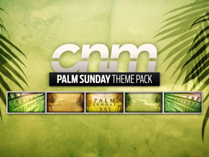 PALM SUNDAY THEME PACK