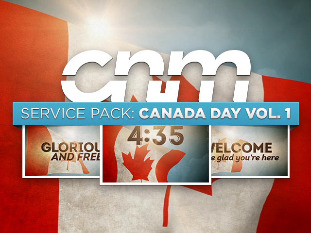 SERVICE PACK: CANADA DAY VOL  1