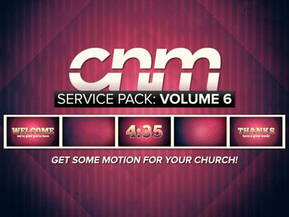 SERVICE PACK: VOLUME 6