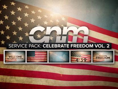SERVICE PACK: CELEBRATE FREEDOM VOLUME 2