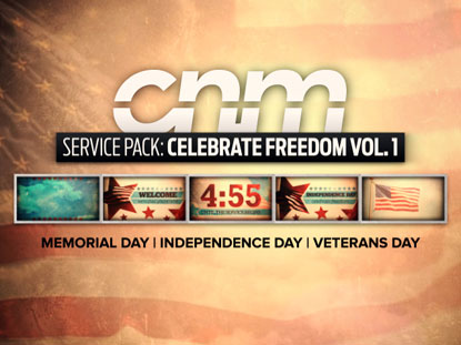 SERVICE PACK: CELEBRATE FREEDOM VOLUME 1