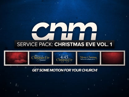 SERVICE PACK: CHRISTMAS EVE VOLUME 1
