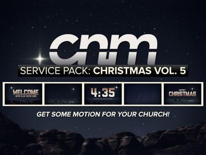 SERVICE PACK: CHRISTMAS VOLUME 5