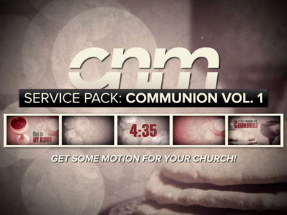SERVICE PACK: COMMUNION VOLUME 1