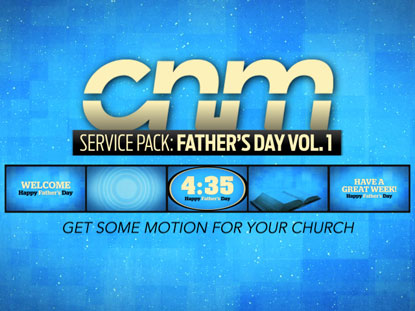 SERVICE PACK: FATHER'S DAY VOLUME 1