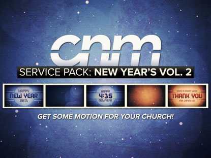 SERVICE PACK: NEW YEAR'S VOLUME 2
