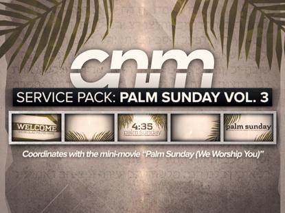 SERVICE PACK: PALM SUNDAY VOLUME 3