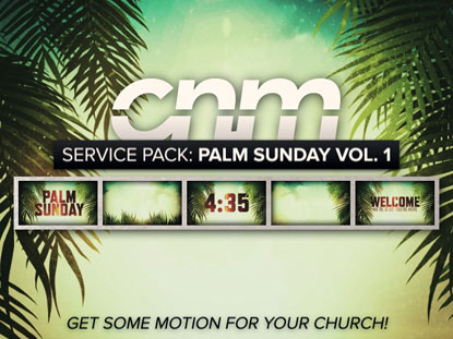 SERVICE PACK: PALM SUNDAY VOL. 1