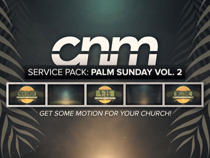SERVICE PACK: PALM SUNDAY VOL. 2