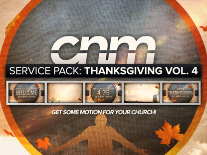 SERVICE PACK: THANKSGIVING VOLUME 4
