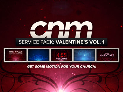SERVICE PACK: VALENTINE'S VOLUME 1