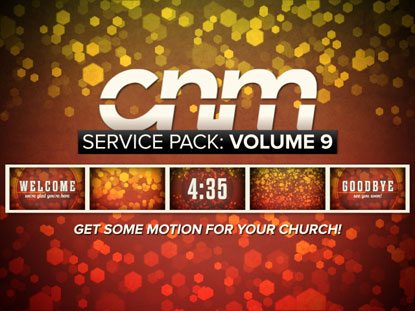 SERVICE PACK: VOLUME 9