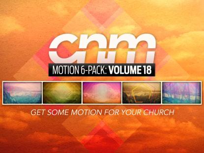 MOTION 6-PACK: VOLUME 18