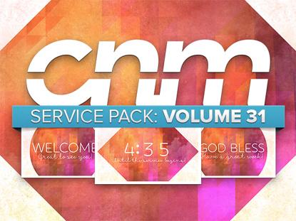 SERVICE PACK: VOLUME 31