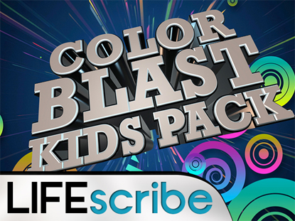 COLOR BLAST KIDS PACK