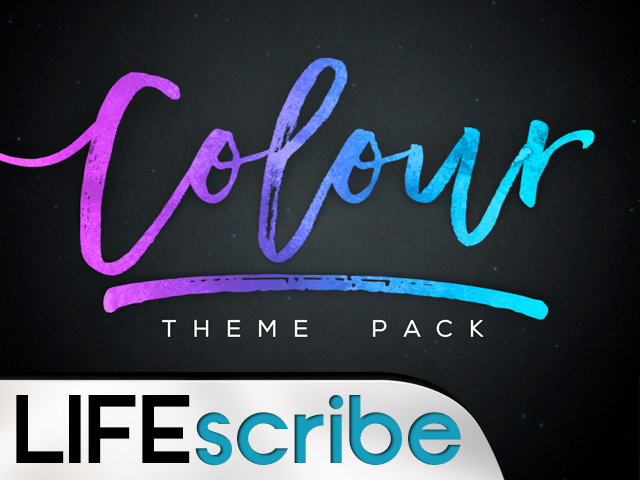 COLOUR THEME PACK