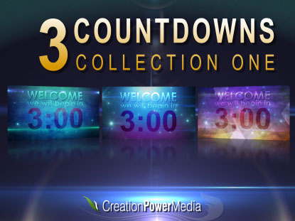 3 COUNTDOWNS COLLECTION ONE
