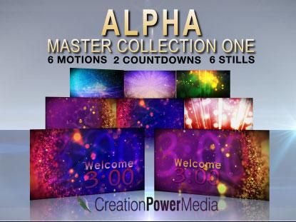 ALPHA MASTER COLLECTION 1