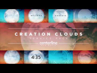 CREATIVE CLOUDS SERVICE PACK