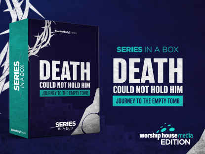 DEATH COULD NOT HOLD HIM: SERIES IN A BOX