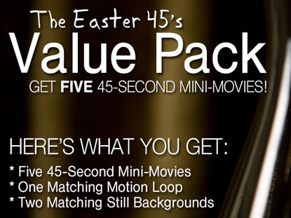 THE EASTER 45'S VALUE PACK