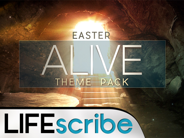 EASTER ALIVE THEME PACK