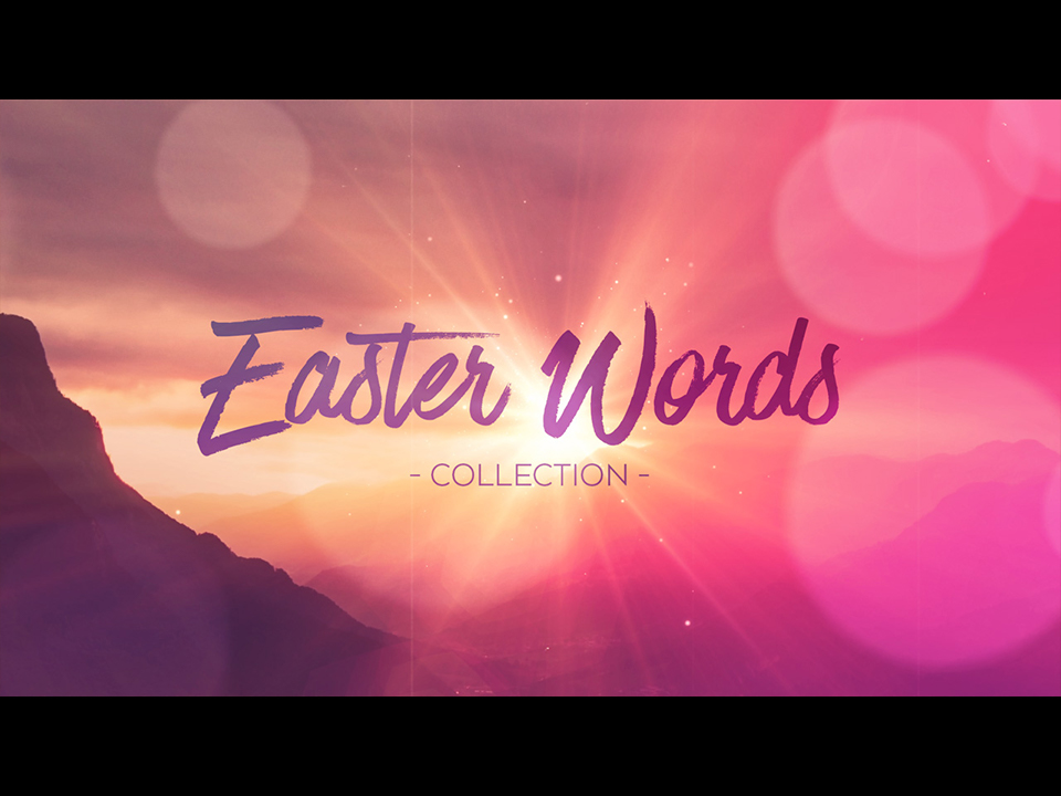 EASTER WORDS COLLECTION