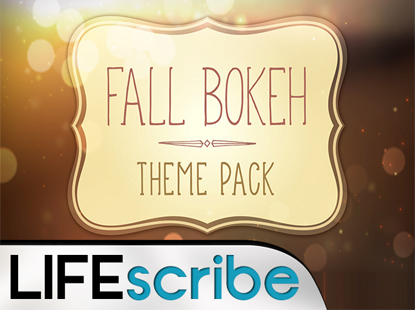 FALL BOKEH THEME PACK