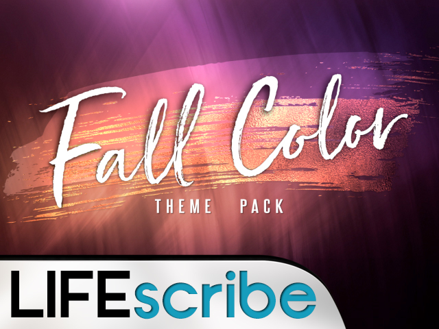 FALL COLOR THEME PACK