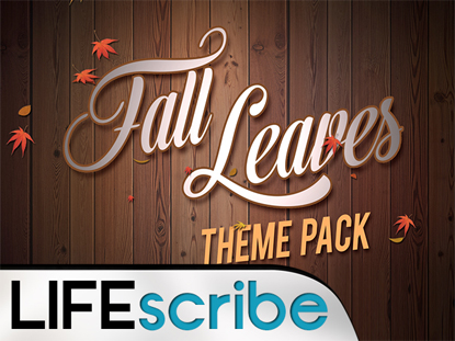 FALL LEAVES THEME PACK