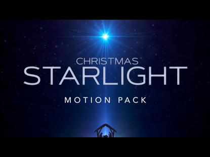 CHRISTMAS STARLIGHT MOTION PACK