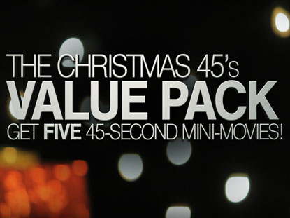 THE CHRISTMAS 45'S VALUE PACK
