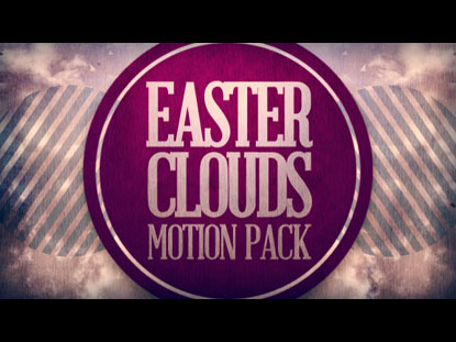 EASTER CLOUDS MOTION PACK