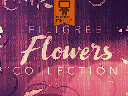 FILIGREE FLOWERS COLLECTION - SPANISH