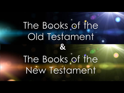 THE BOOKS OF THE BIBLE (OLD AND NEW TESTAMENT)