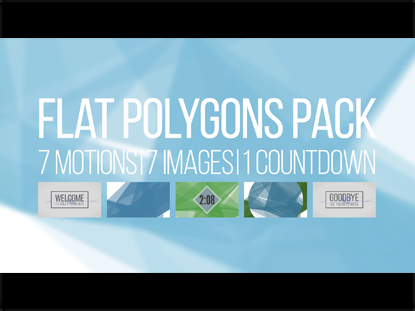 FLAT POLYGONS PACK