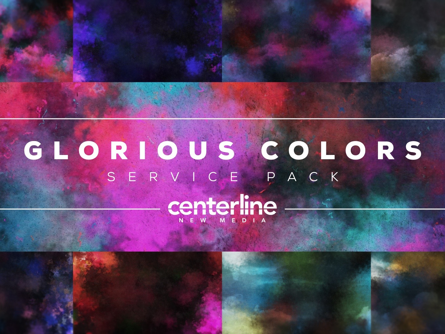 GLORIOUS COLORS SERVICE PACK