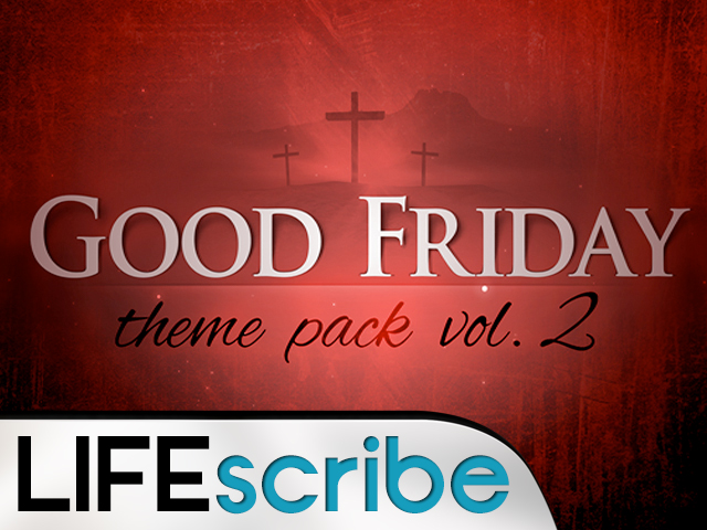 GOOD FRIDAY THEME PACK V2