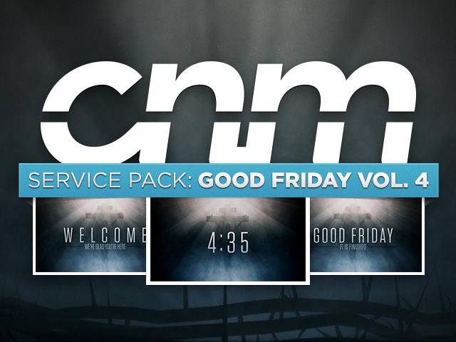 SERVICE PACK: GOOD FRIDAY VOL. 4