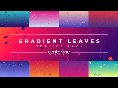 GRADIENT LEAVES SERVICE PACK
