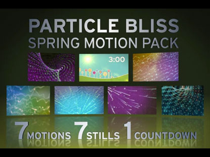 PARTICLES BLISS BACKGROUND PACK